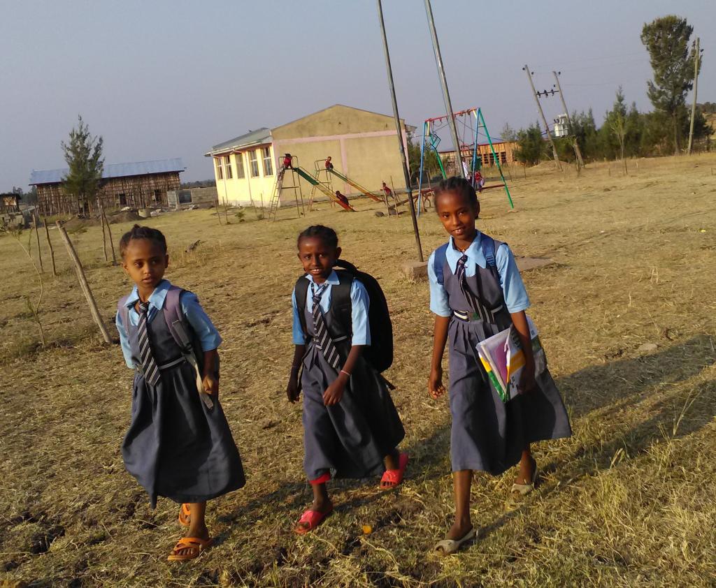 alunne della scuola di Goro